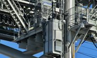 Winda serwisowa STROS w porcie kontenerowym New Iberia, USA
